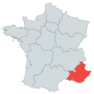 Südwall Provence-Alpes-Côte d'Azur