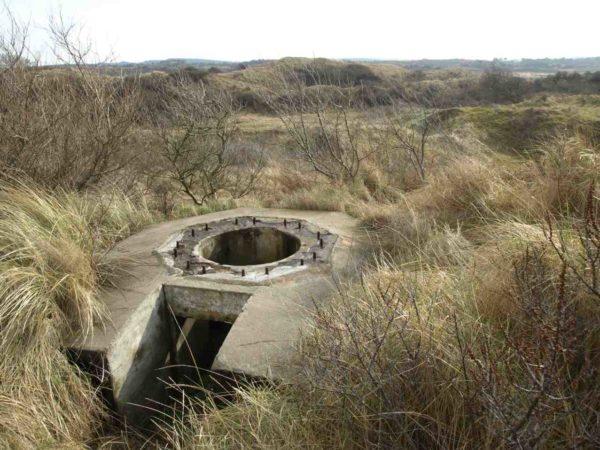 Festung IJmuiden-Bunker-227-Bunker-for-French-tank-turret