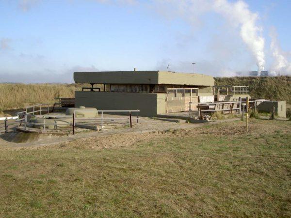 Festung IJmuiden-Bunker-M120-Fire-control-post
