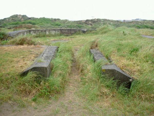 Festung IJmuiden-Former-emplacement