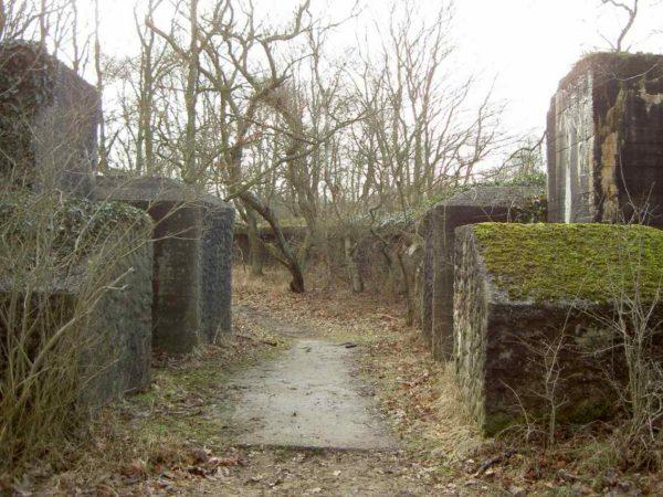 Fortified-entrance-(Walzkörpersperre)
