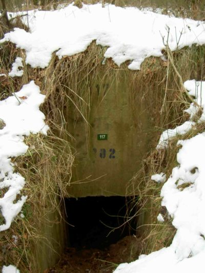 Ammunition-bunker